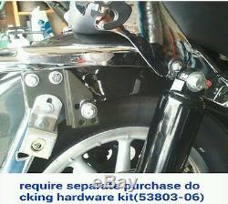 New Detachable Backrest Sissy Bar For Harley Davidson Touring 97-08