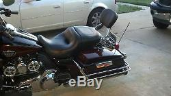New Detachable Backrest Sissy bar For Harley Touring 2009 UP