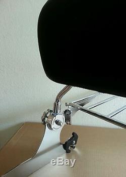 New Detachable Backrest Sissy bar for Harley Softail 00-05