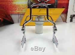 OEM97-08 Genuine Harley Touring Street Glide Passenger Sissy Bar Backrest & Rack