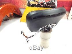 OEM 09-18 Genuine Harley Touring Passenger Sissy Bar Backrest With Pad MSRP $320