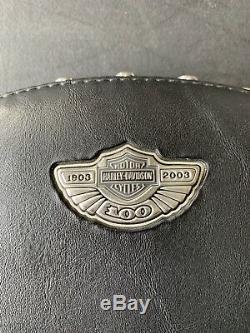 OEM 100th Anniversary Harley Touring Passenger Sissy Bar Backrest Fits 97 To 08