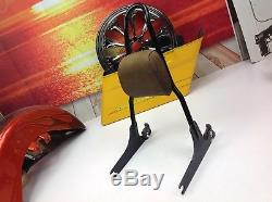 OEM Genuine 06-17 Harley Dyna Detachable Sissy Bar Passenger Backrest Pad