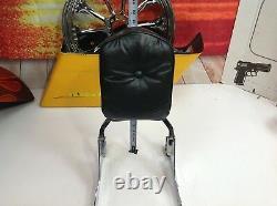OEM Genuine Harley Softail Detachable Sissy Bar Passenger Backrest