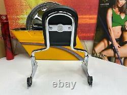OEM Harley CVO Softail breakout 09 Springer Sissy Bar Passenger Backrest