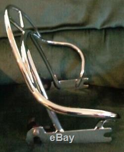 OEM Harley Davidson Heritage Springer FLSTS Detachable Rider Backrest sissybar