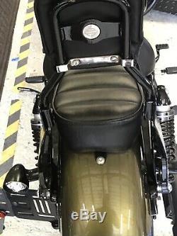 OEM Harley Detachable Sissy Bar Sportster Passenger Backrest & Pad
