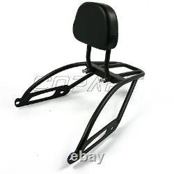 Passenger Backrest Sissy Bar Cushion Pad For Harley Street XG500 XG750 2014-2020