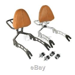 Passenger Backrest Sissy Bar Rack Mounting Spools For Indian Scout 2015-2018 16
