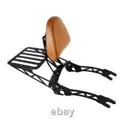 Passenger Sissy Bar Backrest Luggage Rack Fits For Indian Scout Sixty 2015-2020