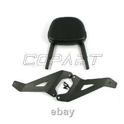 Passenger Sissy Bar Backrest Rack Detachable For Yamaha XVS950 Bolt XV950 14-18