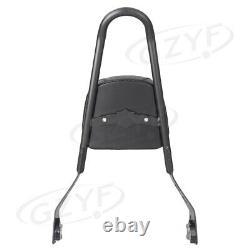 Passenger Sissy Bar Luggage Rack Backrest Fit Harley-Davidson Street 500 2015-16