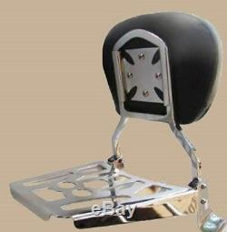 Quick Detachable Sissy Bar WIth Backrest for 1994-2008 Harley Road King