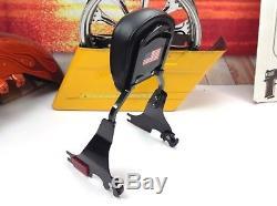 REAL! OEM Harley Detachable Sissy Bar Sportster Passenger Backrest & Pad