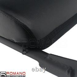 Rear Backrest Sissy Bar withPad Rack for Harley Davidson XL883 XL1200 XL 883 1200