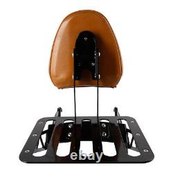 Sissy Bar Backrest Luggage Rack Fit For Indian Scout 2015-2021 Sixty 2016-2021
