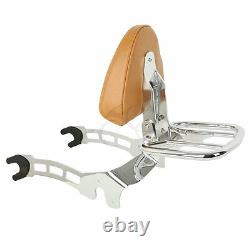 Sissy Bar Backrest Luggage Rack Mount Spools Fit For Indian Scout 15-2020 Sixty