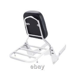 Sissy Bar / Backrest / Luggage Rack for Honda Shadow Aero VT 750 VT750 2004-2012
