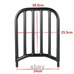 Sissy Bar Backrest Pad Luggage Rack Fit For Indian Chief Dark Horse 2016-2018 US