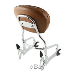 Sissy Bar Backrest Pad Luggage Rack For Indian Chief Vintage Classic Dark Horse