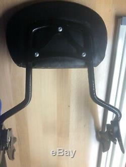Sissy Bar Passenger Backrest For Harley Touring Street Glide Road King 09-13 Usa