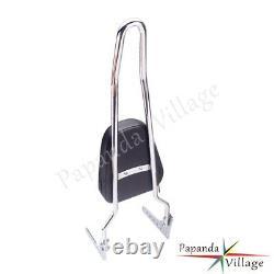 Sissy Bar Passenger Backrest withPad For Harley Softail Deluxe Slim FXBB 18-20 19