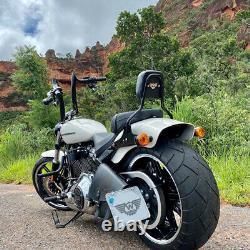 Sissy Bar for Harley Breakout, 16 Detachable Passenger Backrest