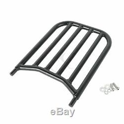 Sissy Bar with Backrest Pad Luggage Rack For Indian Chief Classic Dark Horse 16-18