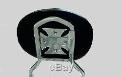 Studded Detachable Sissy Bar/Backrest/Luggage Rack Yamaha Road Star 1600 1700