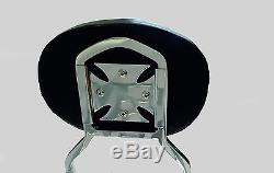 Studded Detachable Sissy Bar/Backrest Yamaha Road Star 1600 1700