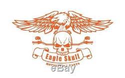 Tall Chrome Harley Passenger Sissy Bar Backrest Street Glide Road King 2009-2019