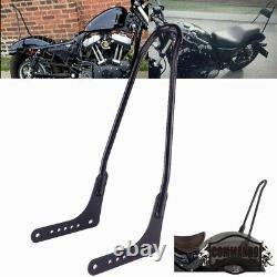 Tall Sissy Bar Rear Backrest For Harley Softail Street Bob FXBB FLHC FLSL 18-20