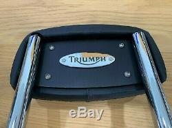 Triumph Thunderbird Sport & Legend TT Sissy Bar/Backrest P/N A9950055 (Chromium)