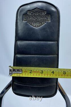 Vintage Harley Shovelhead Detachable Passenger Backrest Sissy Bar Eagle